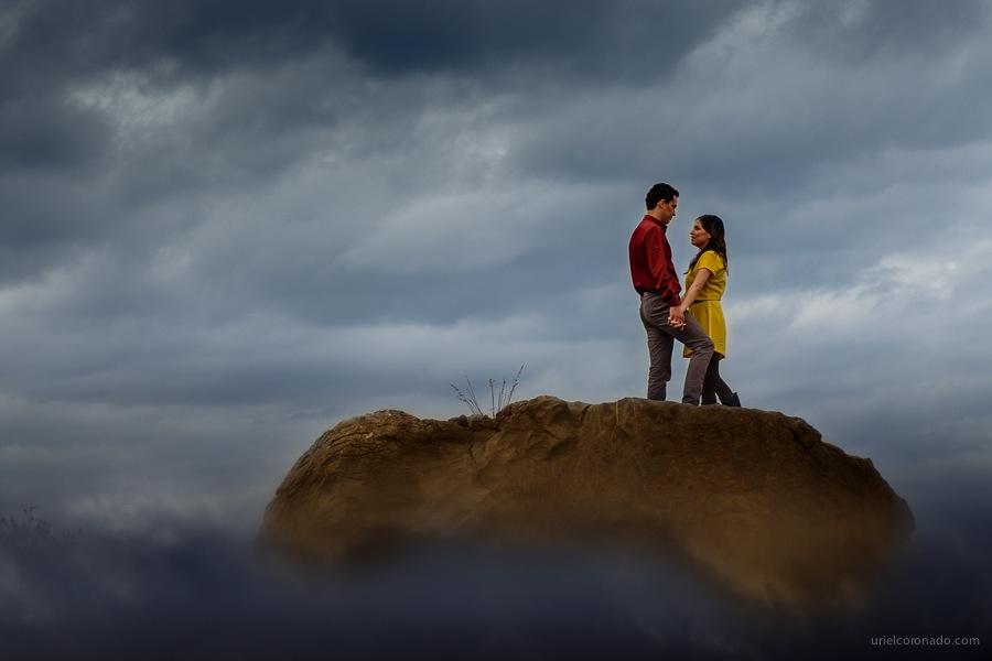 Karina & Carlos | Sesión en Sierra de Álvarez | Uriel Coronado Fotógrafo de Bodas en San Luis Potosí
